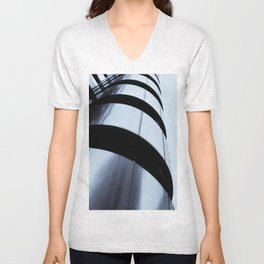 Lloyds of London abstract Unisex V-Neck
