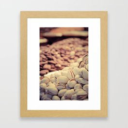 Nuts, nuts and more nuts Framed Art Print