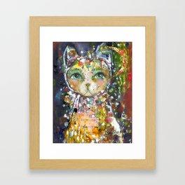 Guardian Of Stillness Framed Art Print