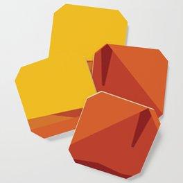 Geometric Afternoon Print Coaster