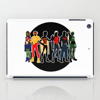 justice league iPad Cases featuring The Original Young Justice Team by wasabinokiki