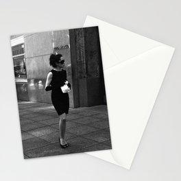 Breakfast at Tiffany's Stationery Cards