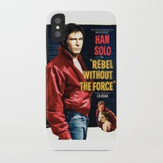 Rebel Without the Force iPhone X Slim Case