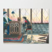 burdge Canvas Prints featuring Enough Responsibility by Burdge
