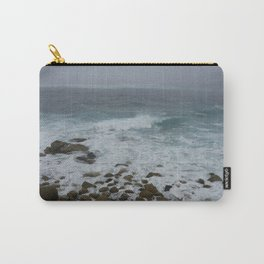 Unsettled Waters at Sennen Cove Carry-All Pouch