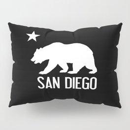 San Diego and California Bear Pillow Sham
