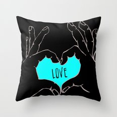 Love (version 2) Throw Pillow