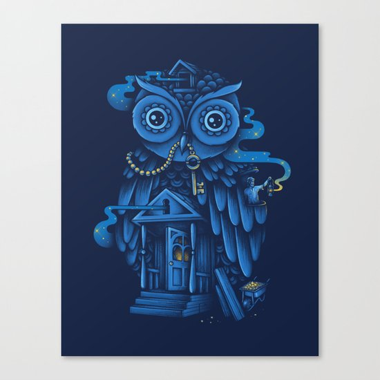 Guardian of the Night Canvas Print