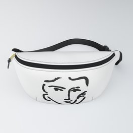 Henri Matisse Nadia With a Serious Expression, Original Artwork, Tshirts, Prints, Posters Fanny Pack
