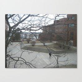 Campus Canvas Print