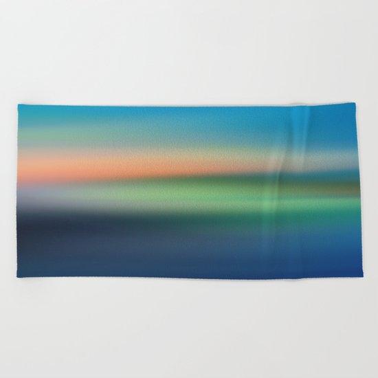 Abstract Seascape Beach Towel