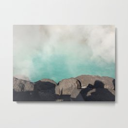 Oita Hot springs Metal Print