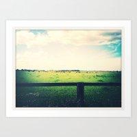 farm Art Prints featuring Farm by Bosco