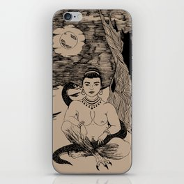 Lilith in the Garden of Edom iPhone Skin