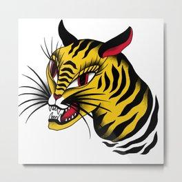 Tiger! Tiger! Metal Print