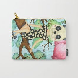 Panda Girl Carry-All Pouch