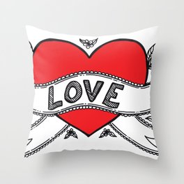 Declare your love! Throw Pillow