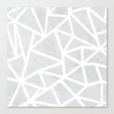 Ab Marble Zoom Canvas Print