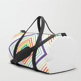 Tricky Figure - Optical Illusion - Geometric Art - Modernist Duffle Bag