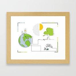 elgatoconbotas Framed Art Print