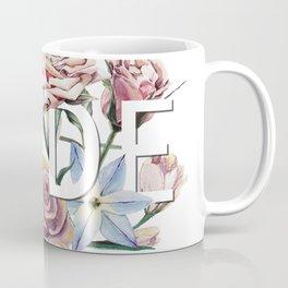 Floral Rude Coffee Mug
