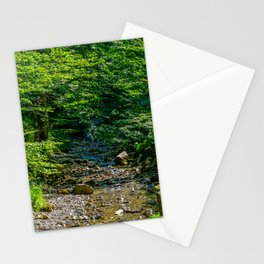 Small Creek in the Forest Stationery Cards