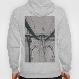 Brooklyn bridge, architecture, vintage photography, new york city, NYC, Manhattan view Hoody