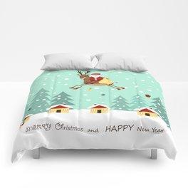 Hello Santa Claus Comforters