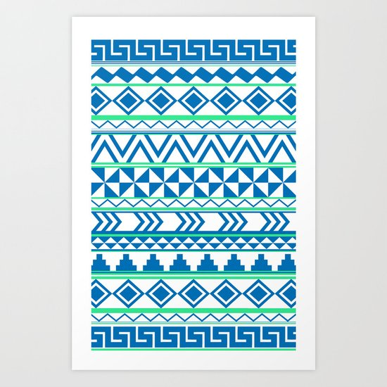 Tribal No. 3 Art Print