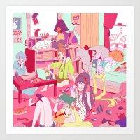 "study Art Prints featuring ""Study"" by Serene World"