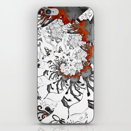 Earth Form Spiral iPhone Skin