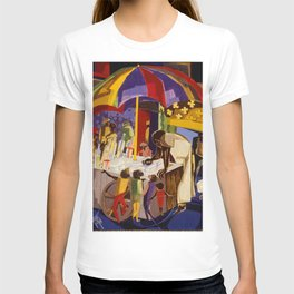 Ices by Jacob Lawrence African American Masterpiece T-shirt