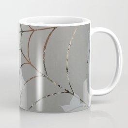 Glass Cobweb Coffee Mug