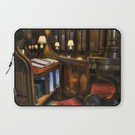 Cathedral's Chief Stall Laptop Sleeve