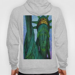 Statue of Liberty 4th of July tribute Hoody