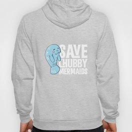 Save the Chubby Mermaids Funny Tshirt Hoody