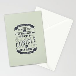 remember when... Stationery Cards
