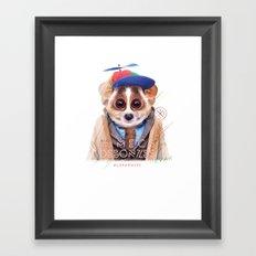 Loris Framed Art Print