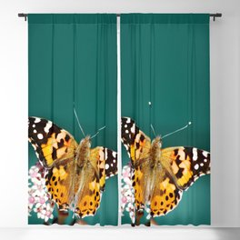 Monarch butterfly Blackout Curtain
