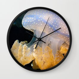 Underwater Macrophotography of Jellyfish Wall Clock