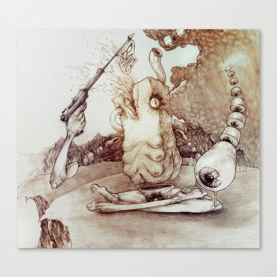 Meditation Orgasm Canvas Print