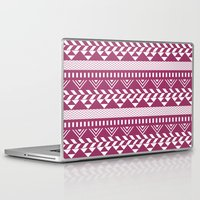 bands Laptop & iPad Skins featuring Tribal Bands by stephaniemichalko