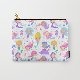 Pretty Mermaids Carry-All Pouch