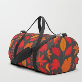 Red autumn leaves Duffle Bag