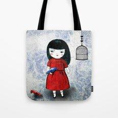 Blanca Bird Tote Bag