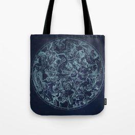 Vintage Constellation & Astrological Signs Tote Bag