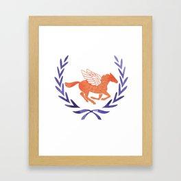 chb cj v2 Framed Art Print