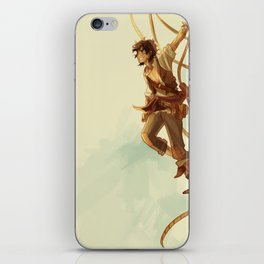 pirate leo iPhone Skin