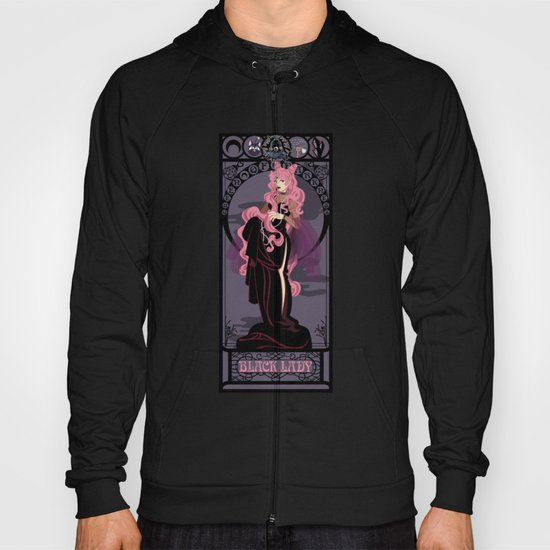 Black Lady Nouveau - Sailor Moon Hoody