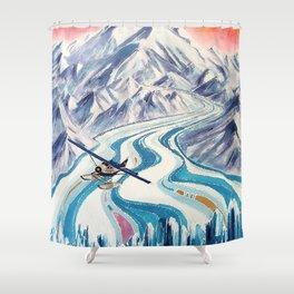 Regal Air Alaska Shower Curtain